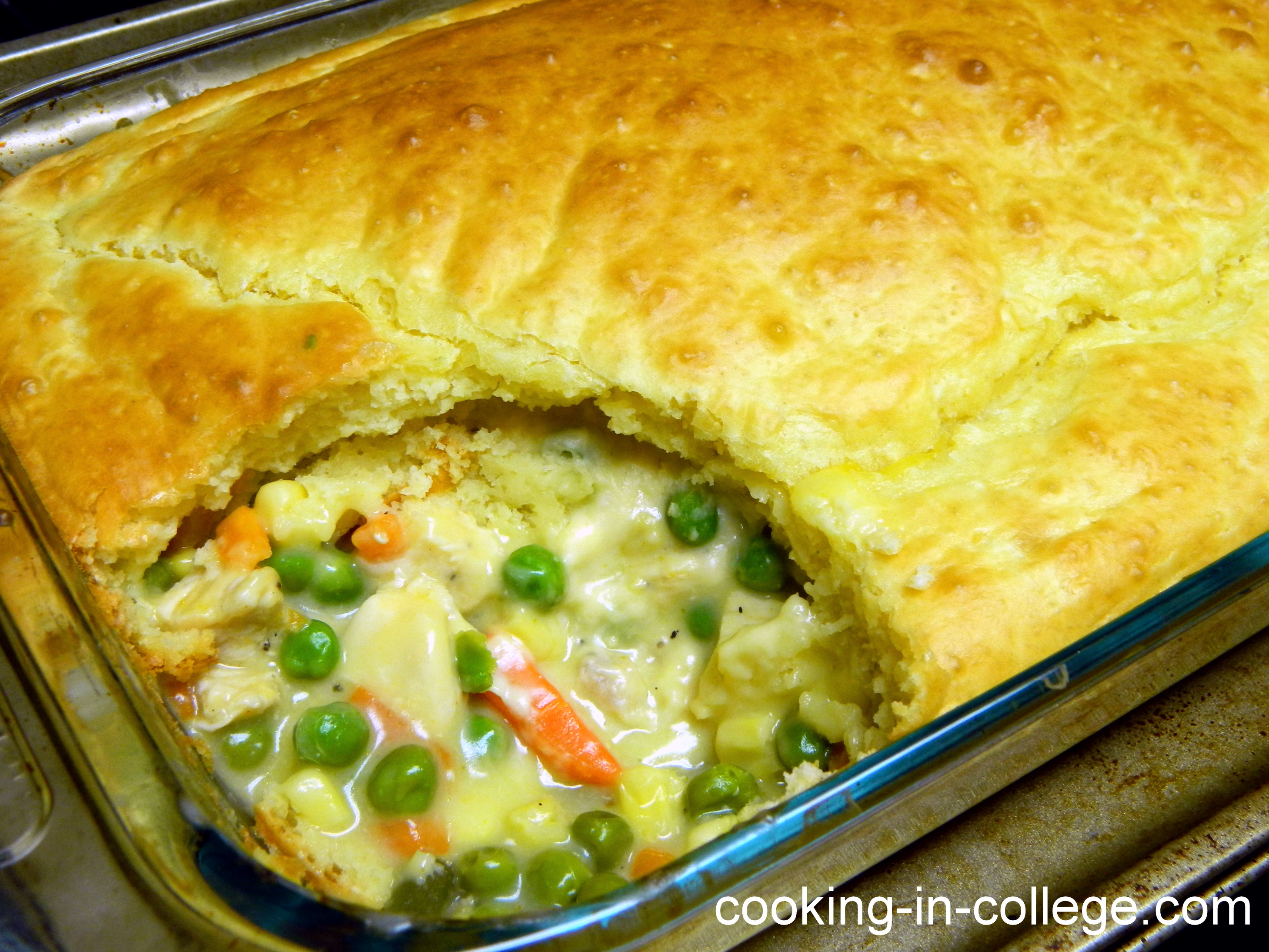 Easy Chicken Pot Pie – Give-away Contest Post 2