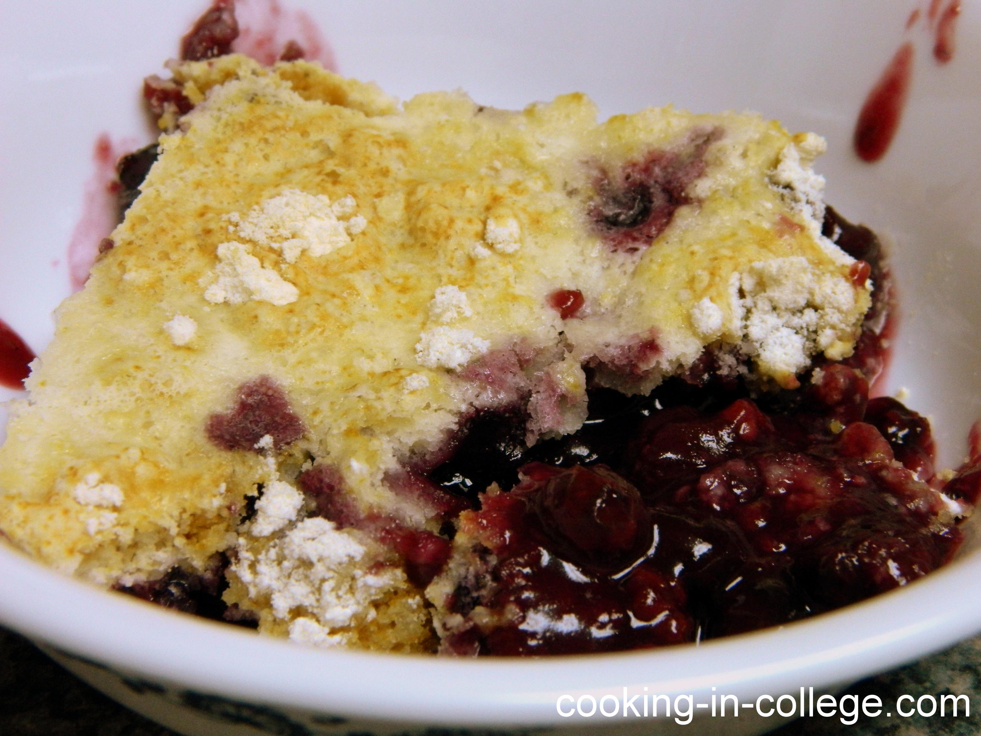 Recipe Berry Cobbler Using Cake Mix