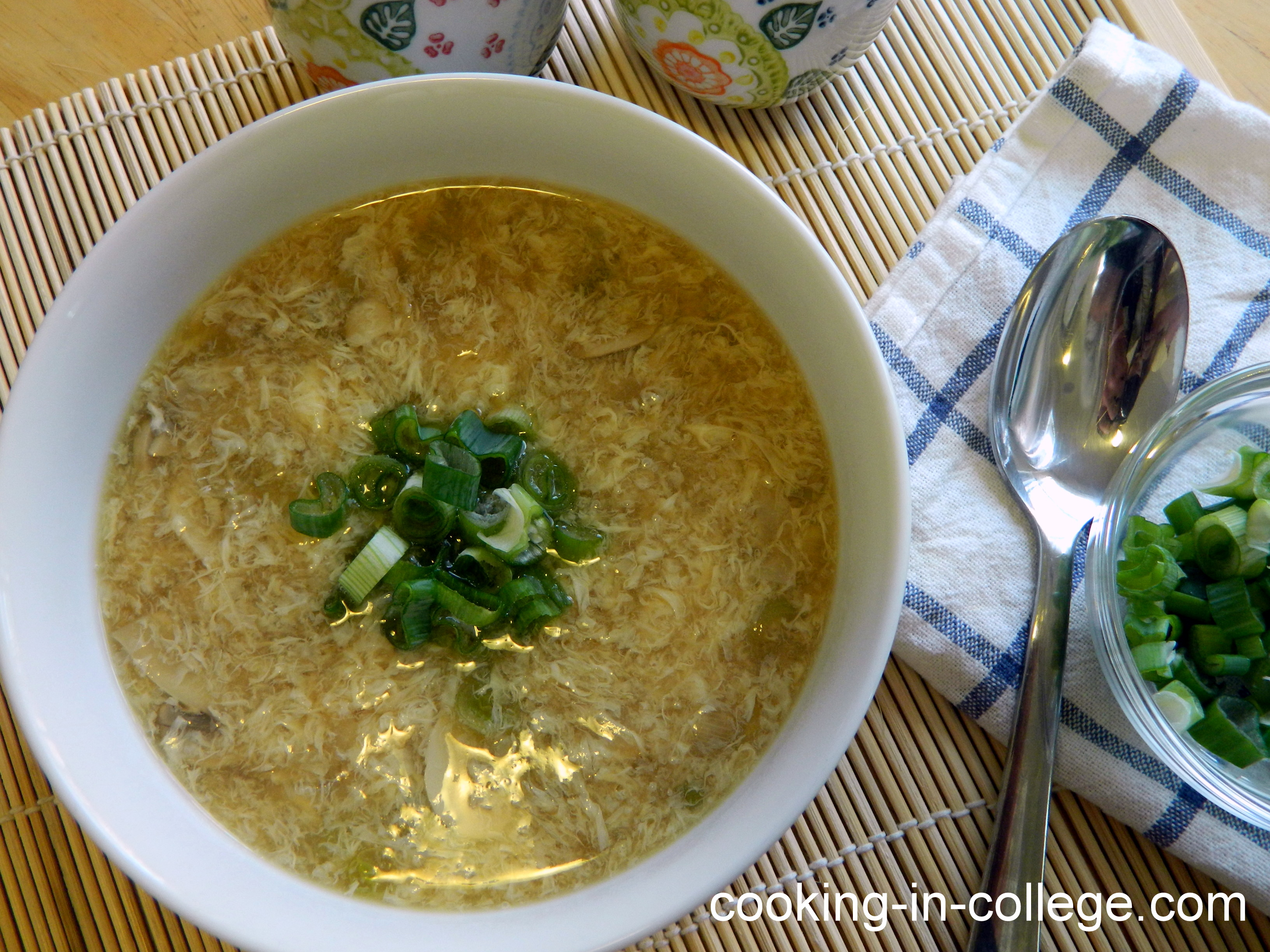 how to make egg soup