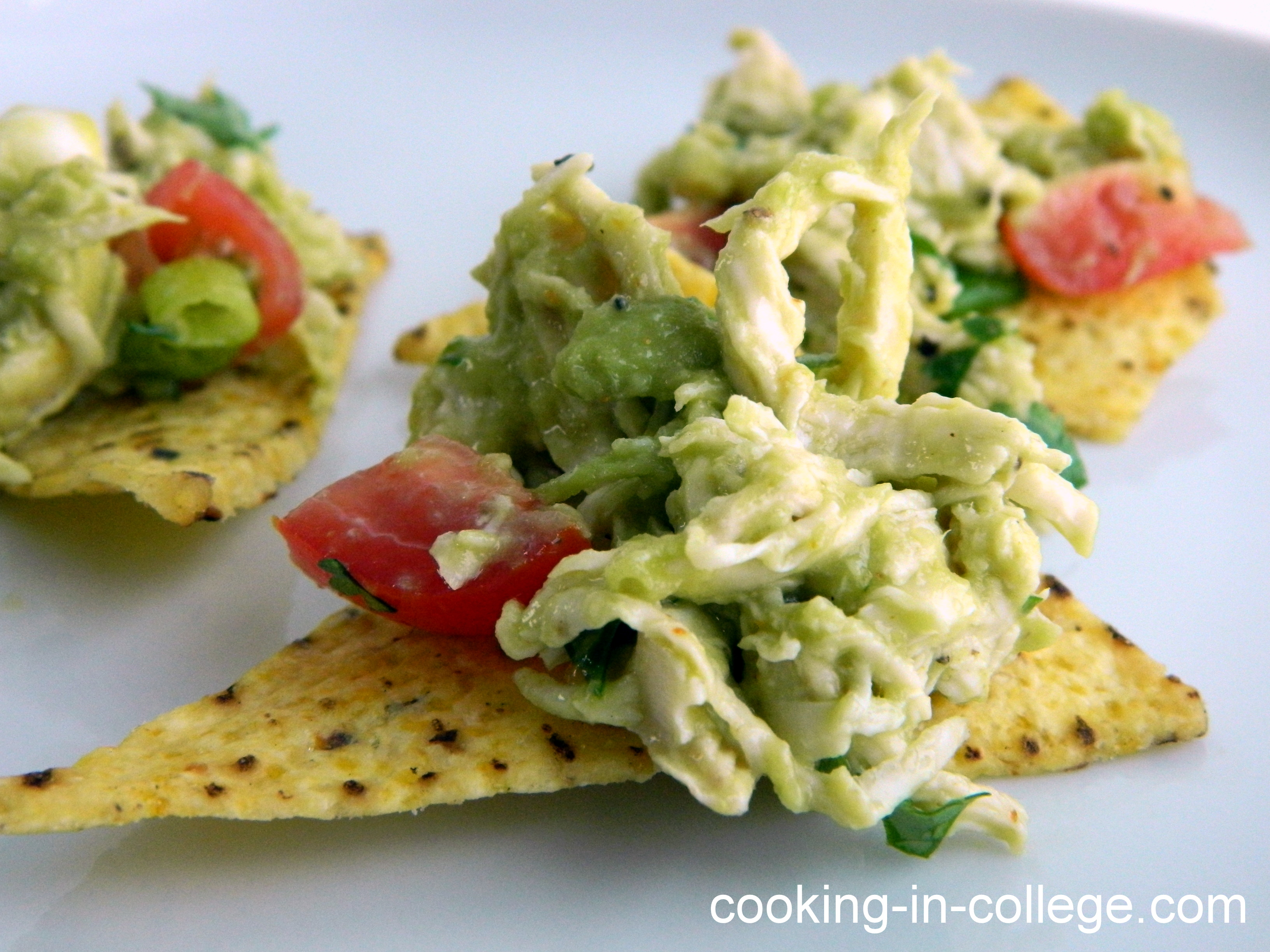 Cooking in College - Avocado Chicken Salad