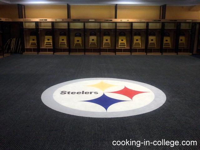Steelers Locker Room Tour