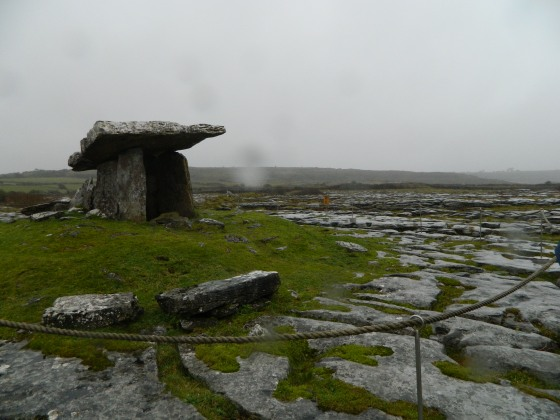 Poulnabrone Dolmen - ancient burial ground over 6000 years old