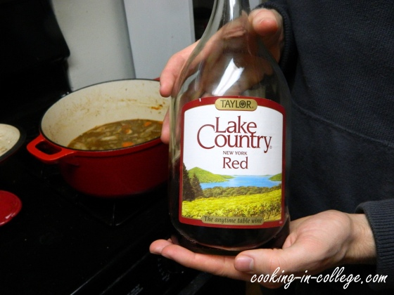 Lake Country...The anytime table wine.