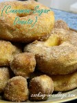 Cinnamon Sugar Donuts - Cooking in College